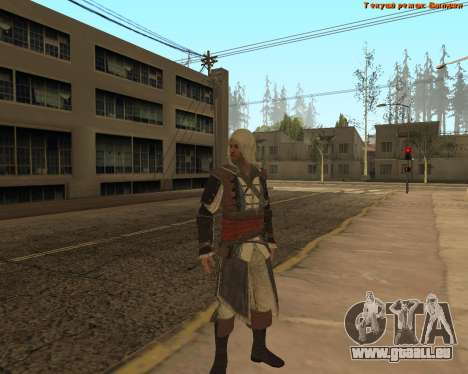Assassin ' Edward für GTA San Andreas zweiten Screenshot