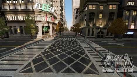 Illégales de la rue de la dérive de la piste pour GTA 4 troisième écran