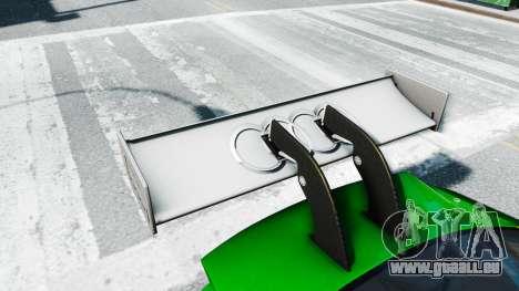 Audi RS5 DTM für GTA 4 Rückansicht
