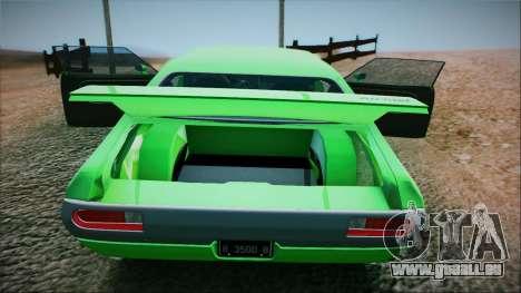 Ford Gran Torino De 1972 pour GTA San Andreas sur la vue arrière gauche
