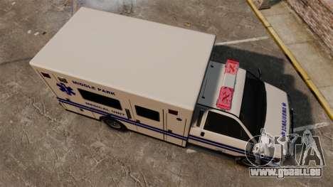 Brute MPMU Ambulance pour GTA 4 est un droit