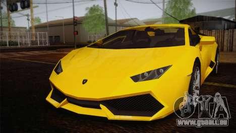 Lamborghini Huracane LP 610-4 V2.0 pour GTA San Andreas