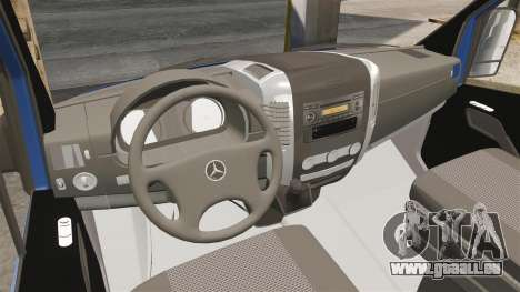 Mercedes-Benz Sprinter 2011 WWE Ultimate Warrior für GTA 4 Rückansicht