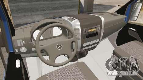 Mercedes-Benz Sprinter 2011 WWE Ultimate Warrior für GTA 4 Rückansicht