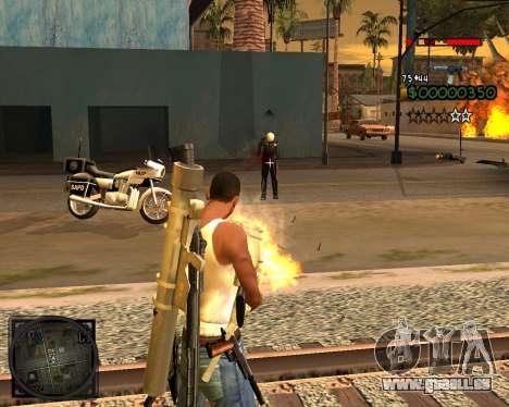 C-HUD Lite v2.0 pour GTA San Andreas troisième écran