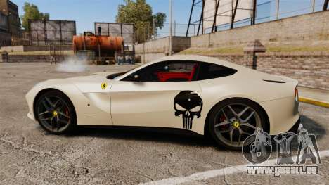 Ferrari F12 Berlinetta 2013 [EPM] Deaths-head für GTA 4 linke Ansicht