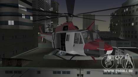Bell HH-1D pour GTA Vice City vue latérale