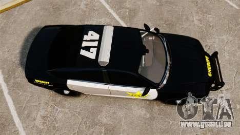 Dodge Charger 2013 LCSO [ELS] für GTA 4 rechte Ansicht