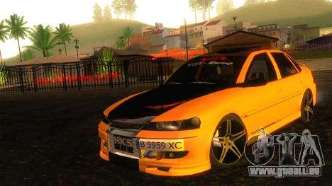 Opel Vectra B TUNING pour GTA San Andreas