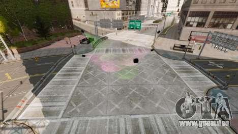 Illégales de la rue de la dérive de la piste pour GTA 4