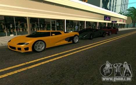 GTA V Entity XF pour GTA San Andreas laissé vue
