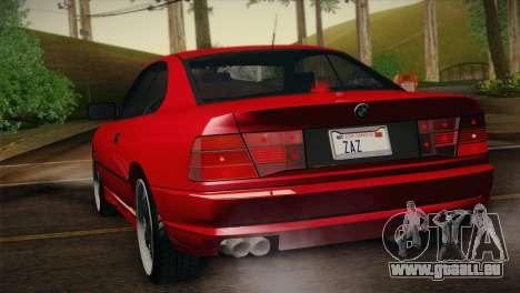 BMW M8 Custom pour GTA San Andreas laissé vue