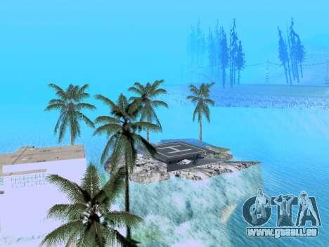 Nouvelle île v1.0 pour GTA San Andreas