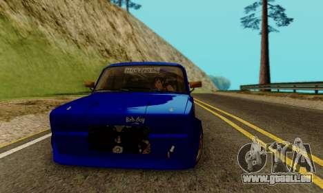 VAZ 2107 Drift für GTA San Andreas Rückansicht