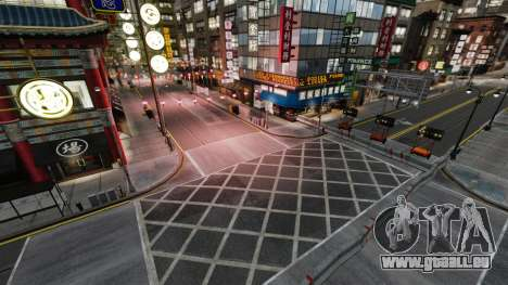 Illégales de la rue de la dérive de la piste pour GTA 4 quatrième écran