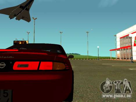 Nissan Silvia S14 Zenki für GTA San Andreas rechten Ansicht