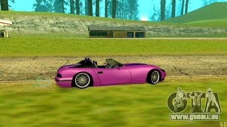New Banshee pour GTA San Andreas sur la vue arrière gauche