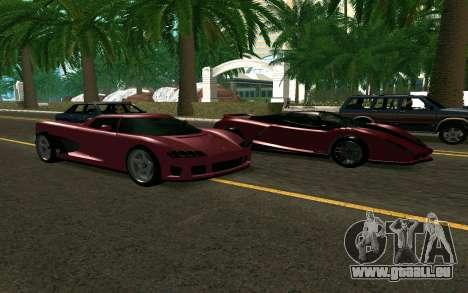 GTA V Entity XF pour GTA San Andreas vue de droite