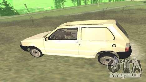 Fiat Uno Fire Cargo für GTA San Andreas rechten Ansicht