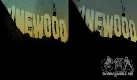 HD + Karten, radar-und Menü für GTA San Andreas fünften Screenshot