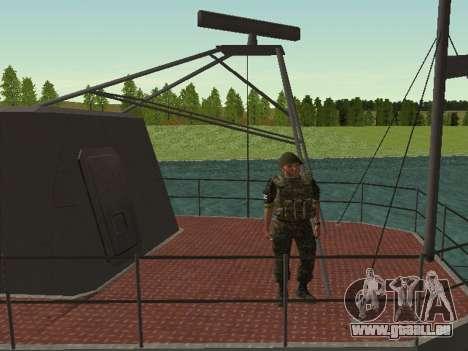 Le Corps des marines des forces armées de l'Ukra pour GTA San Andreas sixième écran