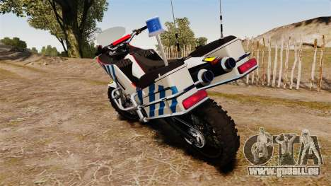 Portugais motocyclette de la police [ELS] pour GTA 4 est un droit
