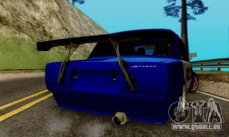 VAZ 2107 Drift für GTA San Andreas Innenansicht
