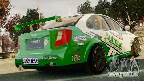Chevrolet Lacetti pour GTA 4 Vue arrière de la gauche