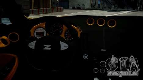 Nissan 370Z 2009 pour GTA 4 est un côté