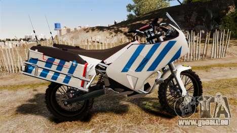 Portugais motocyclette de la police [ELS] pour GTA 4 est une gauche