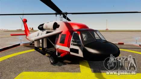 Annihilator U.S. Coast Guard HH-60 Jayhawk pour GTA 4