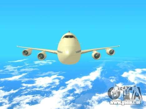 Boeing 747 Air China pour GTA San Andreas vue de côté