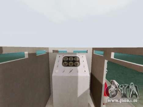 Landing Craft für GTA San Andreas Innenansicht
