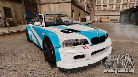 BMW M3 GTR 2012 Most Wanted v1.1 für GTA 4