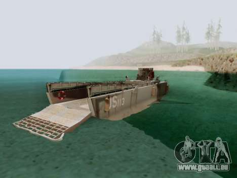 Landing Craft für GTA San Andreas