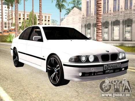 BMW 530d E39 für GTA San Andreas Innenansicht