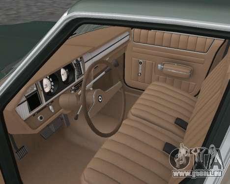 AMC Matador 1972 für GTA San Andreas Innenansicht