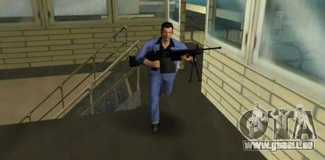 M249 из Battlefield 2 für GTA Vice City zweiten Screenshot