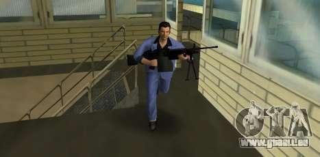 M249 из Battlefield 2 GTA Vice City pour la deuxième capture d'écran