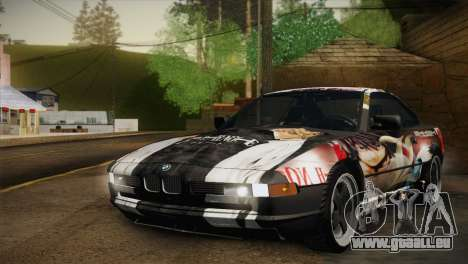 BMW M8 Custom pour GTA San Andreas vue arrière
