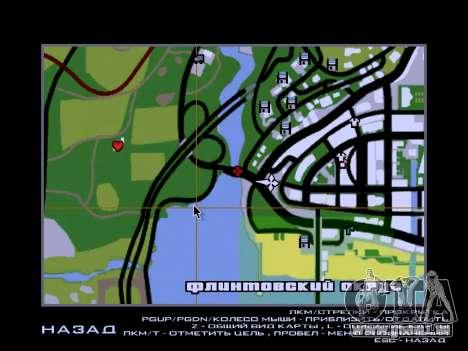La douane de Los Santos, San Fierro v2.0 pour GTA San Andreas quatrième écran
