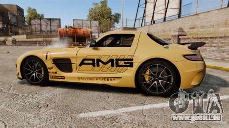 Mercedes-Benz SLS 2014 AMG Driving Academy v2.0 pour GTA 4 est une gauche