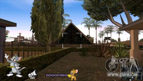 C-HUD Tom and Jerry pour GTA San Andreas sixième écran