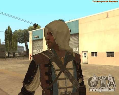 Assassin Edward pour GTA San Andreas quatrième écran
