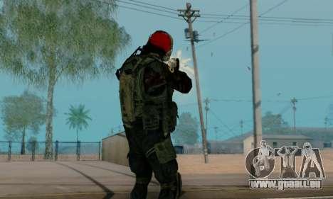 Kopassus Skin 1 pour GTA San Andreas onzième écran