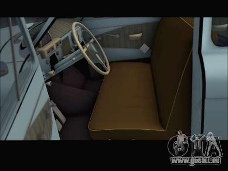 GAZ 21 für GTA San Andreas zurück linke Ansicht