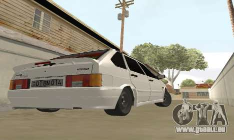 VAZ 2114 Avtosh für GTA San Andreas zurück linke Ansicht