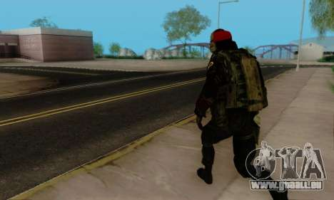 Kopassus Skin 1 für GTA San Andreas zwölften Screenshot