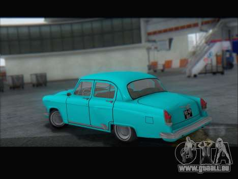 GAZ 21 für GTA San Andreas Seitenansicht