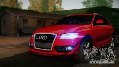 Audi Q5 2012 pour GTA San Andreas vue arrière